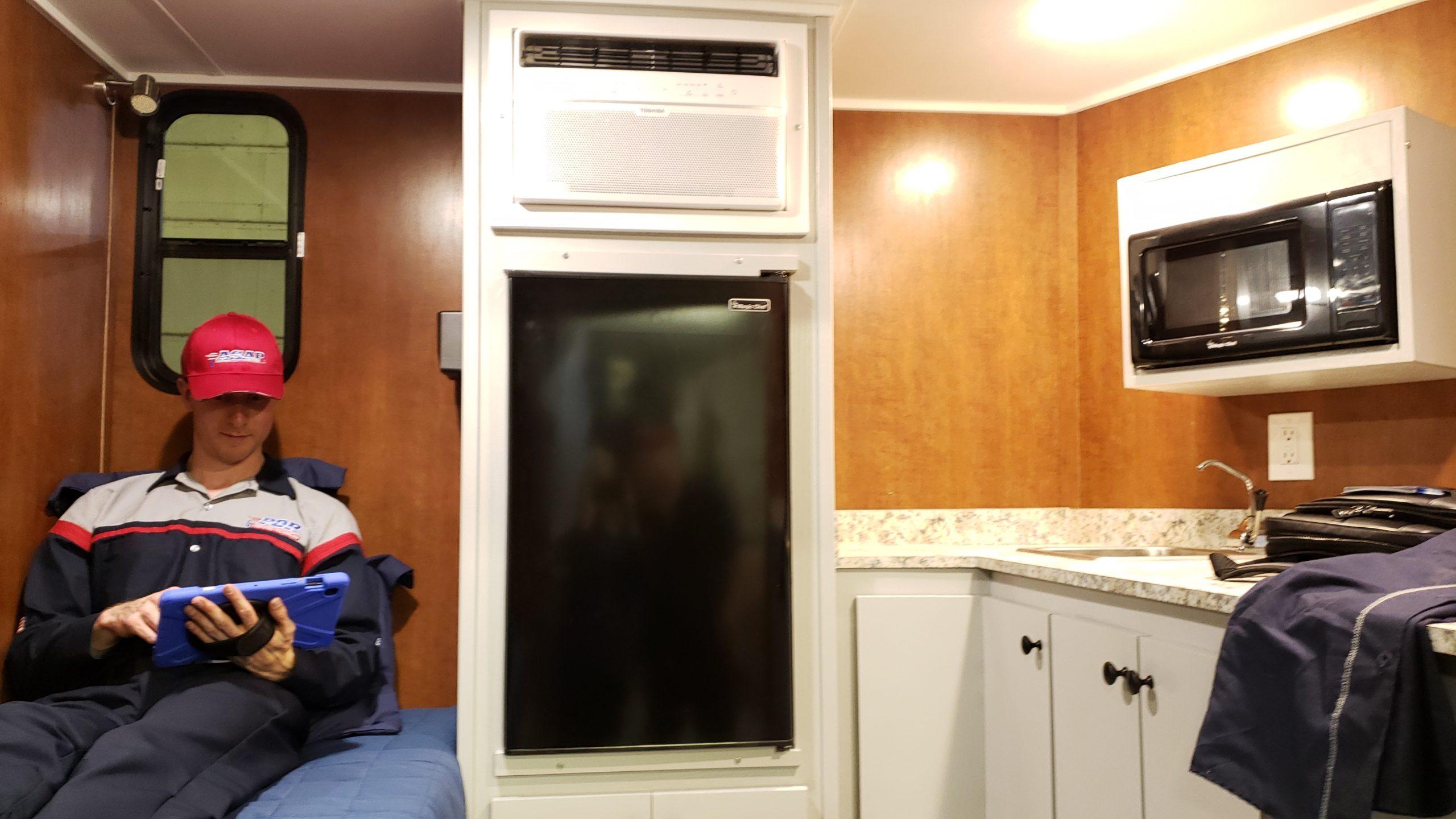 trailer fridge