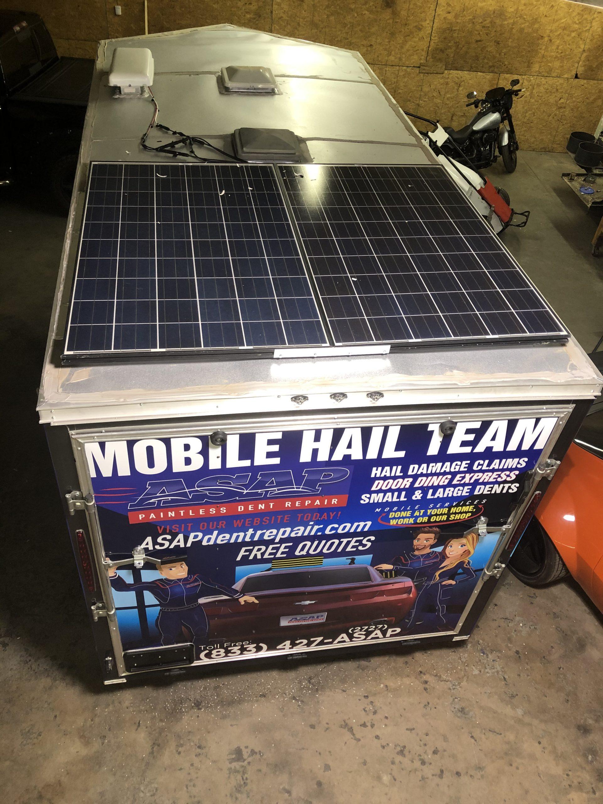 trailer top